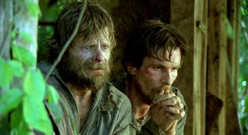 Steve Zahn and Christian Bale in MGM's Rescue Dawn