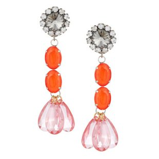 Crystal Drop Earrings Marni: What To Wear: Night Out