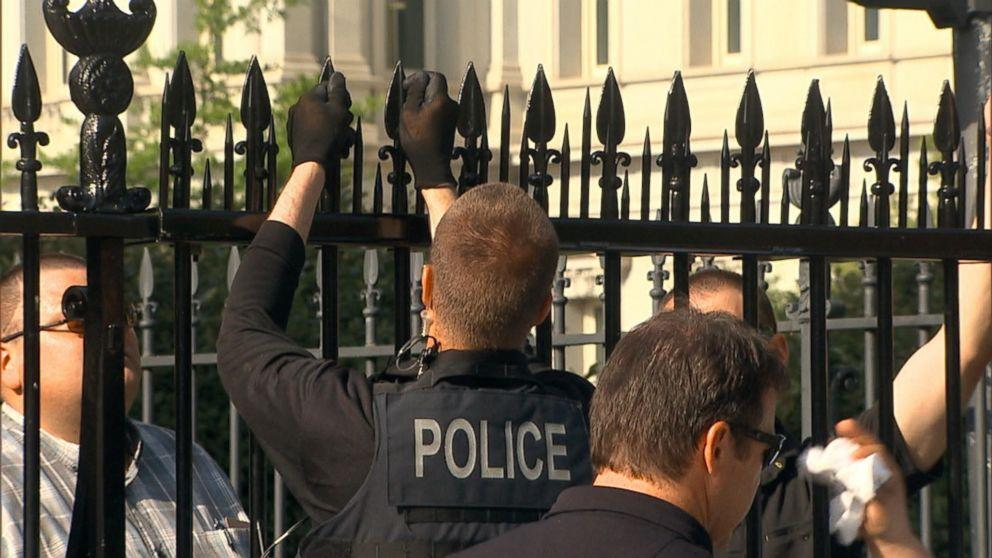 Secret Service Testing New Spikes for White House Fence