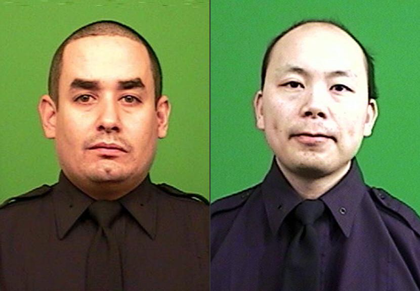 Wake to be held for 1 of 2 slain NYPD officers