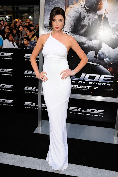 GI Joe Rise of the Cobra LA Premiere 2009 Rachel Nichols