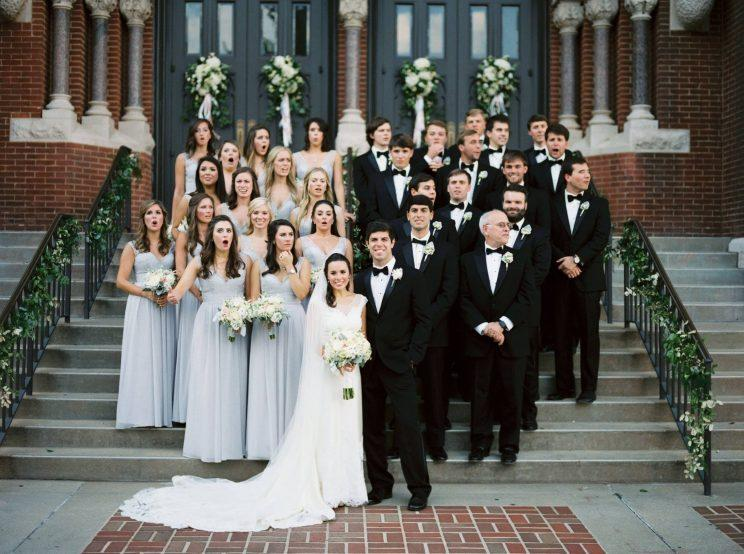 You Might Not Ever Guess Why This Wedding Party Looks So Shocked
