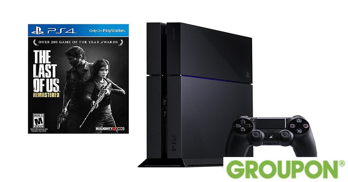 PlayStation 4 Console and Game for $379.00