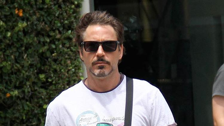 Robert Downey Jr Errands Beverly Hills