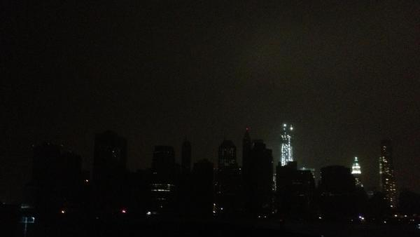 NYC Goes Dark: 10 Eerie Photos of the Hurricane Blackout