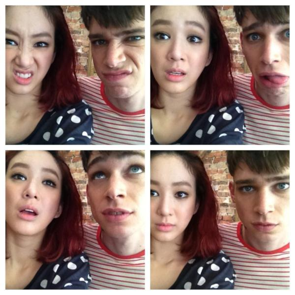 Jung Ryeo Won is an Alien with Top Model Cole Mohr