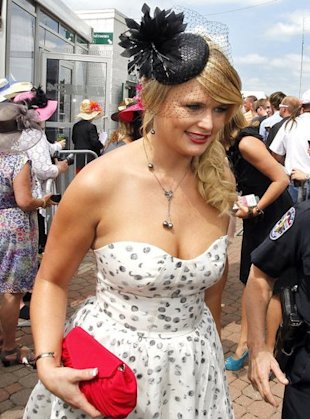 miranda lambert at the kentucky derby 2012