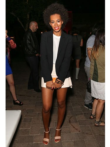 Solange Knowles at an event, 2013