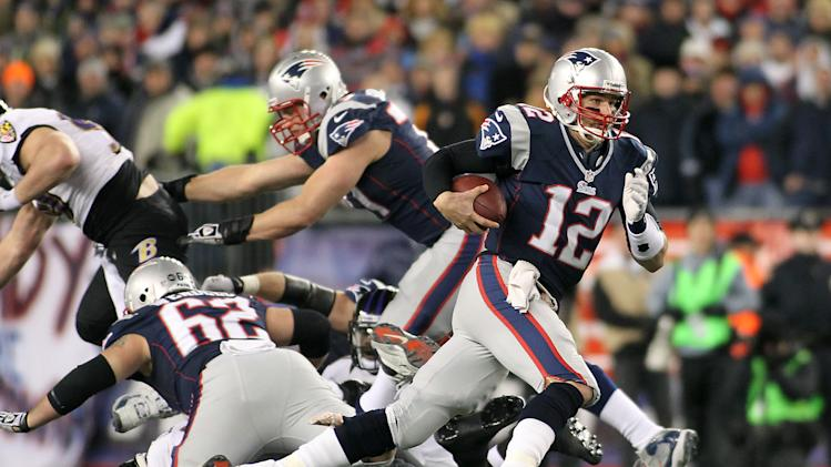 NFL: AFC Championship Game-Baltimore Ravens at New England Patriots