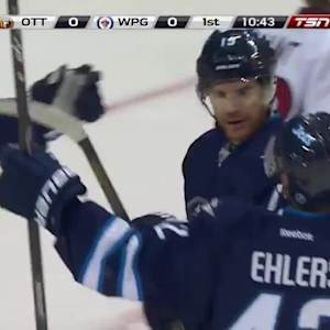 Ottawa Senators at Winnipeg Jets - 09/30/2014
