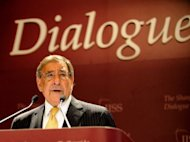 US Secretary of Defense Leon Panetta speaks during the International Institute for Strategic Studies (IISS) 11th Asia Security Summit in Singapore. The US will shift the majority of its naval fleet to the Pacific by 2020 as part of a new strategic focus on Asia, Panetta announced