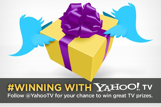 Y! TV Giveaway Winners