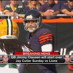 Chicago Bears quarterback Jay Cutler guaranteed contract money even if traded