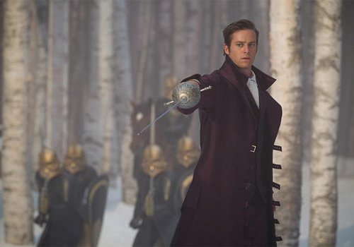 Armie Hammer stars in Relativity's Untitled Snow White - 2012. Photo by Jan Thijs/Relativity