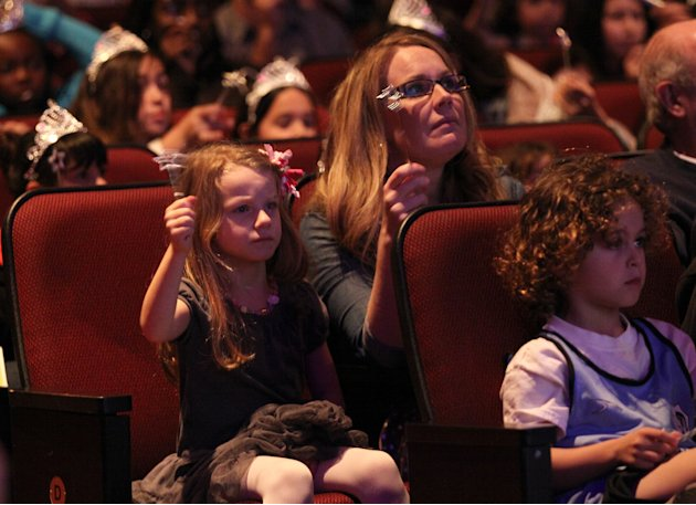 "Guests attend The Hub TV Network's ""My Little Pony Friendship is Magic"" Coronation Concert at the Brentwood Theatre on Saturday, Feb. 9, 2013, in Los Angeles in support of Children's Hospital LA. (Pho"