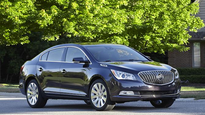 Updated Buick LaCrosse is a peaceful riding sedan