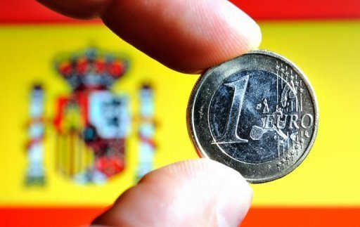 <p>European Central Bank loans to Spain's battered banks shot up 17.2 percent to a record 337.2 billion euros ($411 billion) in June, the Bank of Spain has said.</p>