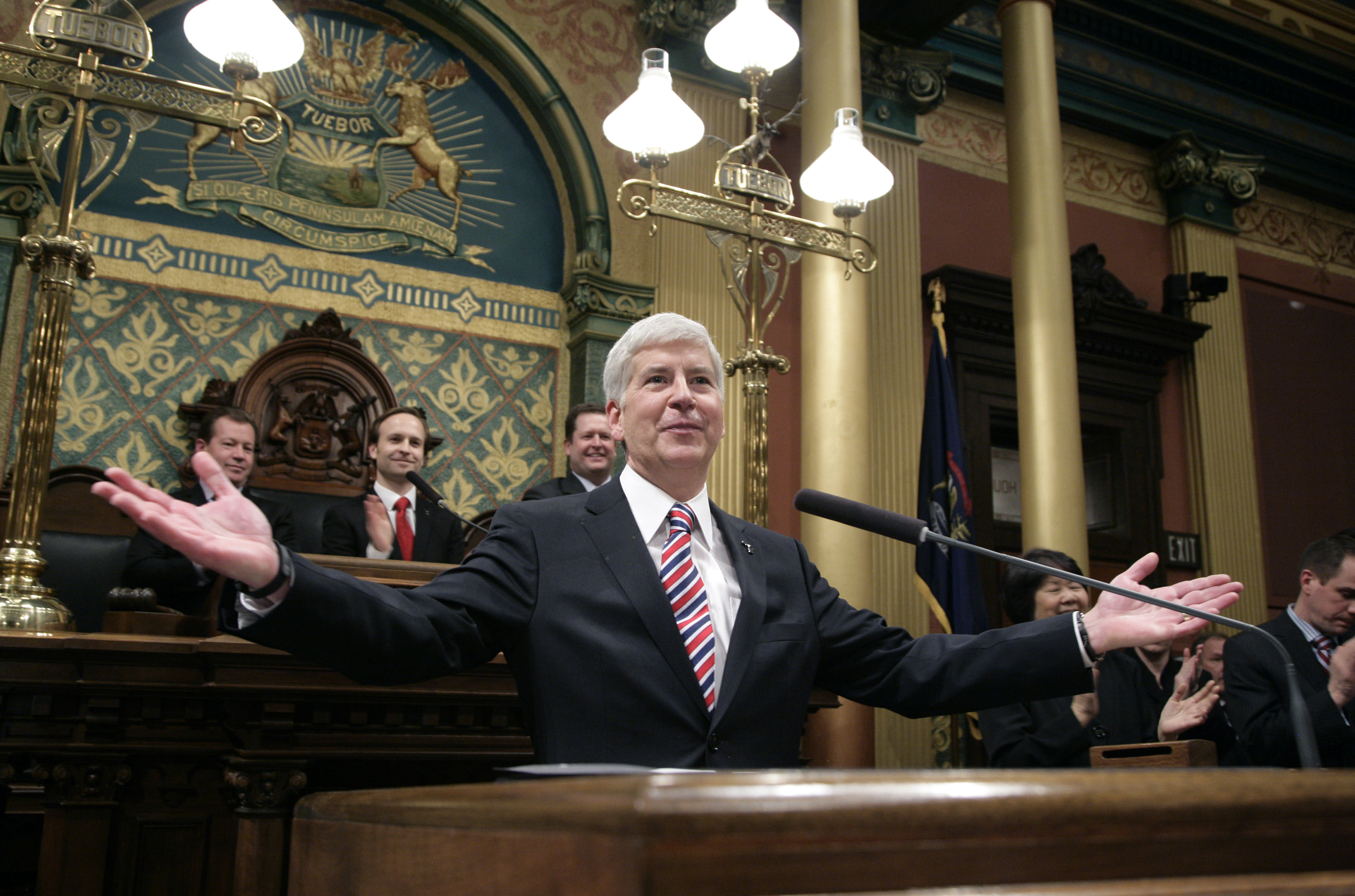 Policies of GOP governors could find national play
