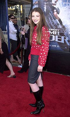 Michelle Trachtenberg at the Westwood premiere of Paramount's Lara Croft: Tomb Raider