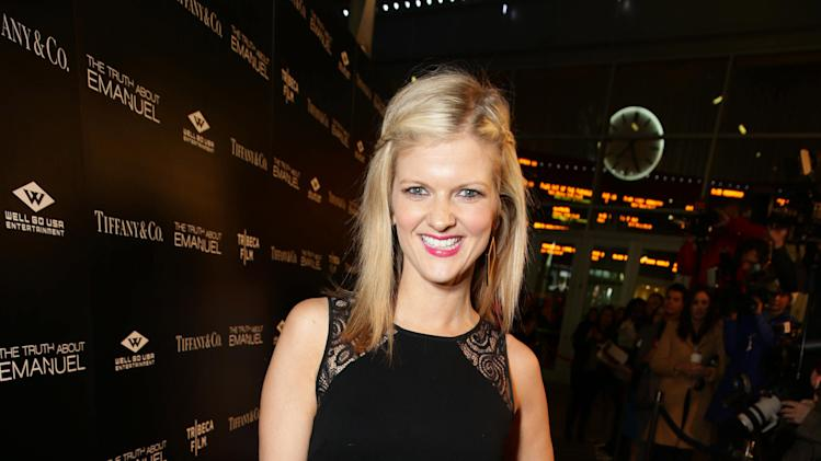Arden Myrin seen at the TIFFANY & CO. Los Angeles red carpet event for Tribeca Film and Well Go USA's release of THE TRUTH ABOUT EMANUEL, on Wednesday, Dec. 4, 2013 in Los Angeles. (Photo by Eric Charbonneau/Invision for Tribeca Film/AP Images)