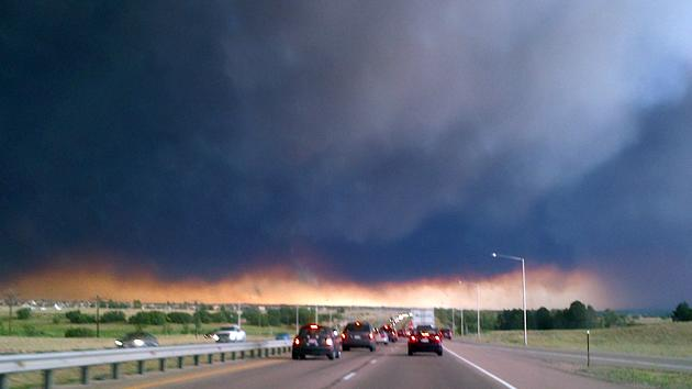 Like Driving into Hell: Traveling into Colorado's Wildfires