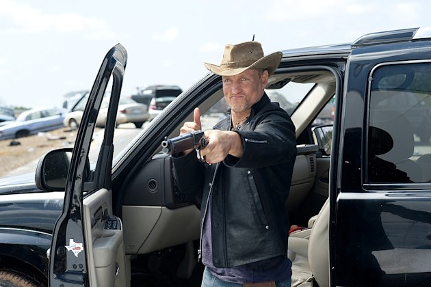 Zombieland Columbia Pictures Production Photos 2009 Woody Harrelson