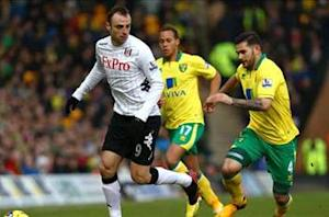 Norwich 0-0 Fulham: Canaries still searching for first league win since December