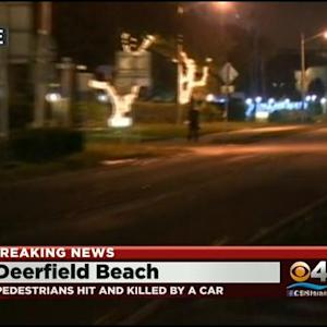 Car Hits, Kills Two In Deerfield Beach
