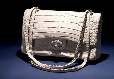 "Chanel ""Diamond Forever"" Classic Bag, $261,000"