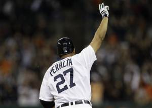 Peralta homers in 9th to lift Tigers over ChiSox