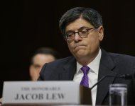 U.S. Treasury Secretary Jack Lew testifies before the Senate Finance Committee on the U.S. government debt limit in Washington October 10, 2013. REUTERS/Gary Cameron