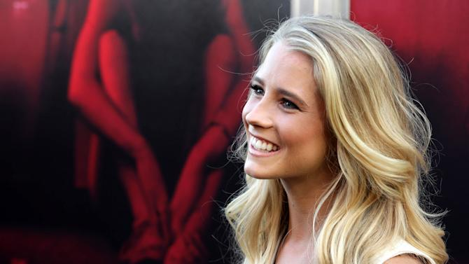 "Cassidy Gifford seen at the Los Angeles Premiere of New Line Cinema ""The Gallows"" held at Hollywood High School on Tuesday, July 7, 2015. (Photo by Eric Charbonneau/Invision for Warner Bros./AP Images)"