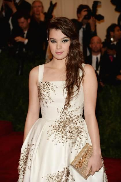 Hailee Steinfeld attends the Costume Institute Gala for the 'PUNK: Chaos to Couture' exhibition at the Metropolitan Museum of Art on May 6, 2013 in New York City -- Getty Images
