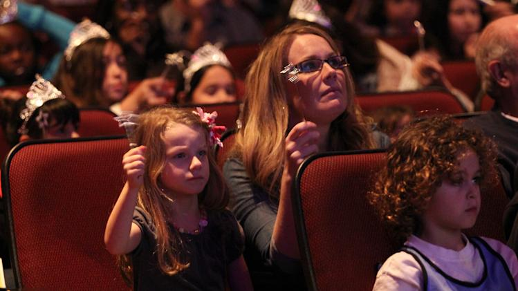 "Guests attend The Hub TV Network's ""My Little Pony Friendship is Magic"" Coronation Concert at the Brentwood Theatre on Saturday, Feb. 9, 2013, in Los Angeles in support of Children's Hospital LA. (Photo by Matt Sayles/Invision for The Hub/AP Images)"