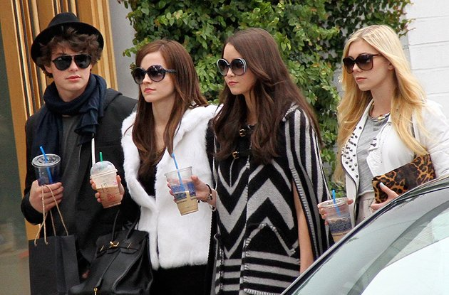 Emma Watson's reality-star look in new movie 'The Bling Ring'
