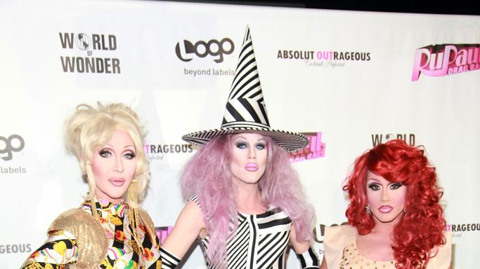 Chad Michaels, Sharon Needles and Phi Phi O'Hara