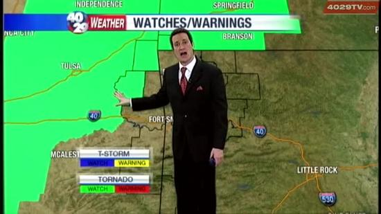 Drew's Weather Webcast, April 17th