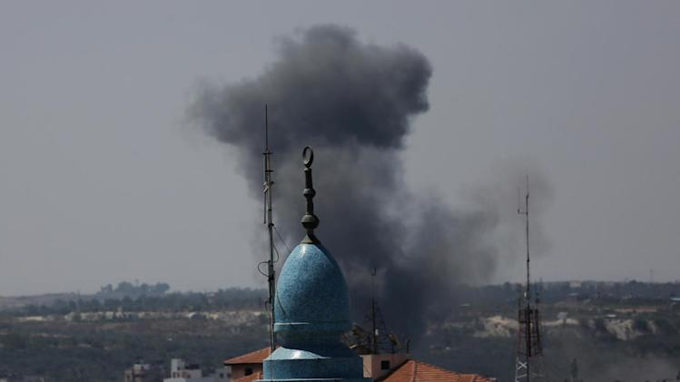 Israel downs Gaza drone along southern coast