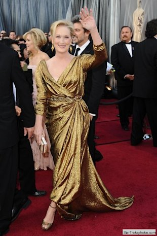 meryl streep oscars 2012