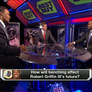 How will benching affect Washington Redskins quarterback Robert Griffin III?