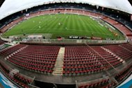 A view of the Parc des Princes stadium taken in 2010. A senior French local government official on Wednesday dismissed a plan by Paris Saint-Germain's Qatari owners to knock down the historic Parc des Princes and build a new stadium in its place, calling it unworkable