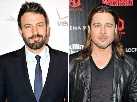 Ben Affleck Has a Man Crush on Brad Pitt, Kristen Stewart Has a Girl Crush on Amy Adams