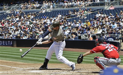 Blanks, Venable, Alonso homer in Padres' 13-4 win