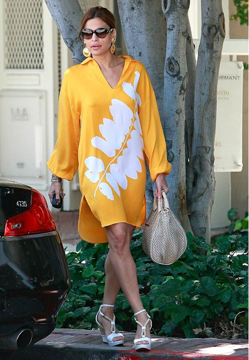 Eva Mendes Out InLA