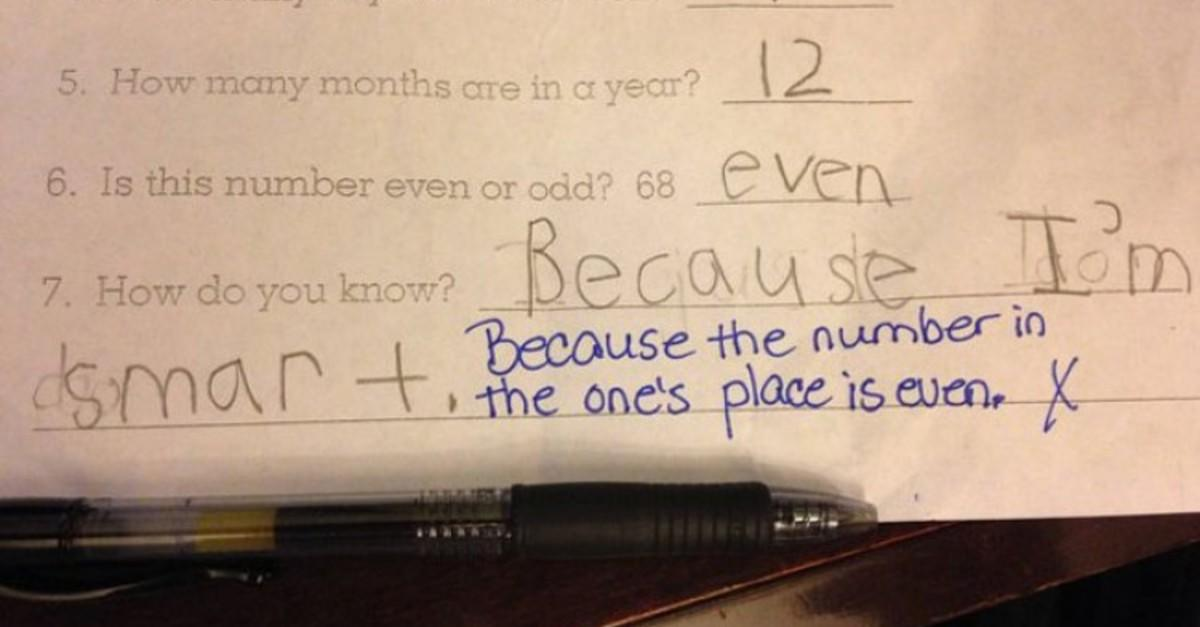 28 Smartypants Test Answers by Kids