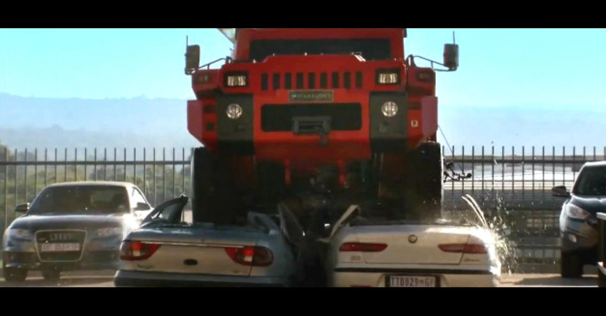 Terrifying Truck You Have to See! (Check It Out!)