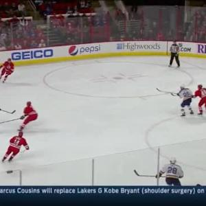 Cam Ward Save on Vladimir Tarasenko (09:07/1st)