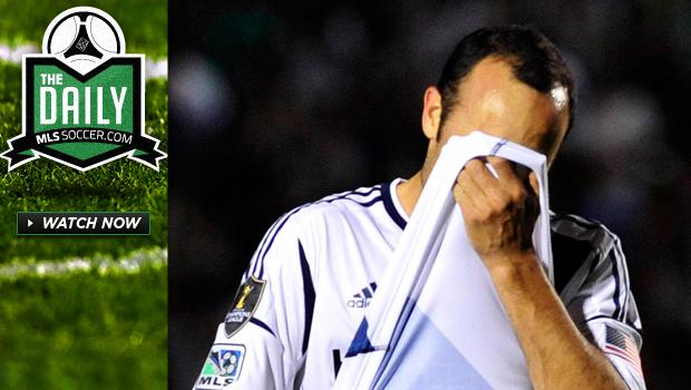 The Daily 4/11 - Galaxy lose to Monterrey, MLS clubs fail to reach CCL final