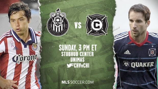 Chivas USA vs. Chicago Fire | MLS Match Preview