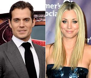 Henry Cavill, Kaley Cuoco Dating!